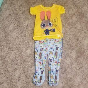 Zootopia Girl Pajamas